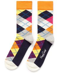Happy Socks Argyle Socks - Lyst