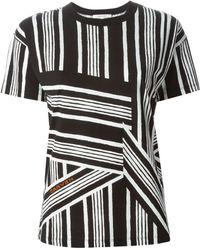 Carven Mix-Striped T-Shirt - Lyst