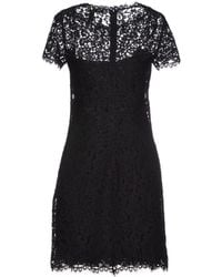 Ralph Lauren Black Label Short Dress - Lyst