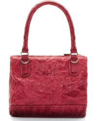 Givenchy Cherry Pink Pepe Leather Small Pandora Bag - Lyst