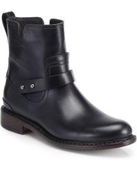 Rag & Bone Ashford Leather Moto Boots - Lyst