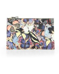 Valentino Camubutterfly Large Nylon Pouch - Lyst
