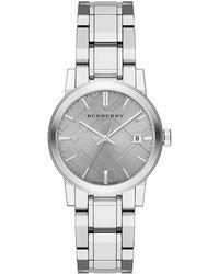 Burberry Ladies Stainless Steel Bracelet Watch - Lyst