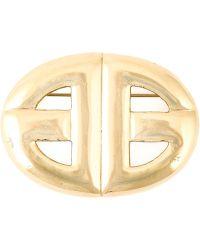 Givenchy Vintage Logo Brooch - Lyst