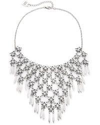 Adia Kibur - Ava Necklace - Silver - Lyst