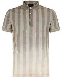 Fendi Degrade Striped Polo Shirt - Lyst