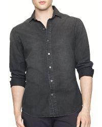 Ralph Lauren Black Label Chambray Sloan Shirt  Slim Fit - Lyst