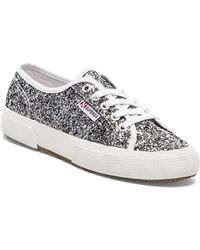 Superga Chunky Glitter Sneakers - Lyst