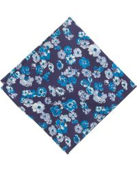 J.Crew Cotton Pocket Square in Garden Floral - Lyst