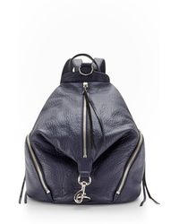 Rebecca Minkoff Julian Backpack blue - Lyst