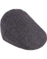 Olney - Check British Wool Hereford Flat Cap - Lyst