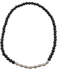 Ali Grace Jewelry - Beaded Ebony Necklace - Lyst