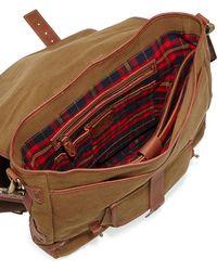 Will Leather Goods - Hopper Canvas Messenger Bag - Lyst 4673edb9a
