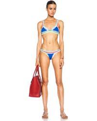 Kiini Tuesday Poly-Blend Bikini Top - Lyst