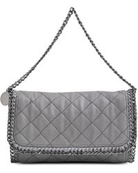 Stella McCartney Falabella Quilted Flap Bag - Lyst