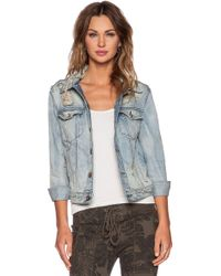 NSF Clothing Adam Denim Jacket - Lyst