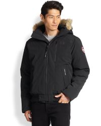 Canada Goose parka online authentic - The kooples sport Fur-trimmed Puffer Jacket in Gray for Men ...