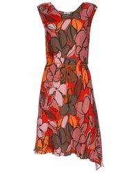 Paul Smith | Floral Cotton and Silk-Blend Dress  | Lyst
