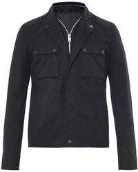 Balenciaga Two Pocket Cotton Jacket - Lyst