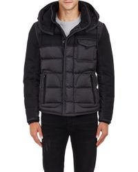 Moncler Quilted Tech Jacket black - Lyst