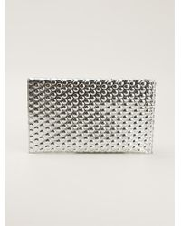 Mm6 By Maison Martin Margiela Bubble Wraptextured Clutch - Lyst