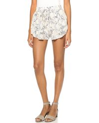 Rory Beca Pae Shorts Blue Champagne - Lyst