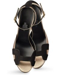 Hermes Highlight High Heel Sandals - Lyst