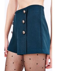Cooperative - Button-front Short - Lyst