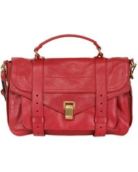 Proenza Schouler Medium Ps1 Lux Leather Satchel - Lyst