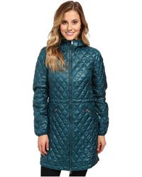 The North Face Blue Thermoball Parka - Lyst