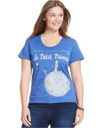 Out Of Print - Plus Size Le Petit Prince Graphic Tee - Lyst