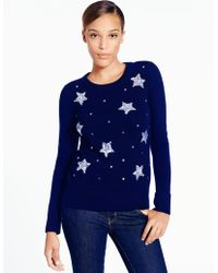 Kate Spade Constellation Sweater - Lyst