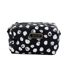Marc By Marc Jacobs Crosby Spotted Quilted Nylon Cosmetic Case black - Lyst