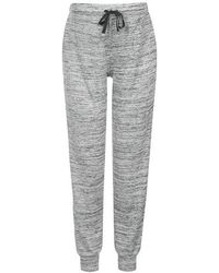 Topshop Maternity Space Dye Lounge Joggers gray - Lyst