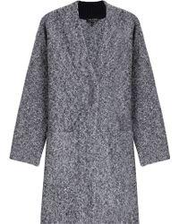 Rag & Bone | Merino Wool Cardigan - Grey | Lyst