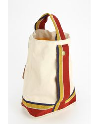 State Bags - Ashton Canvas Stripe Tote Bag - Lyst