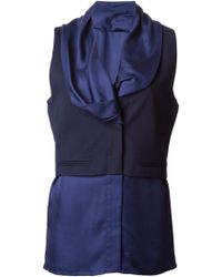 Haider Ackermann Buster Sleeveless Blouse - Lyst