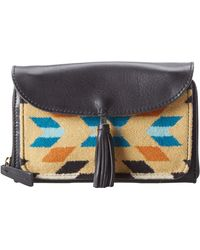 Pendleton Leather Wallet On A Strap - Lyst