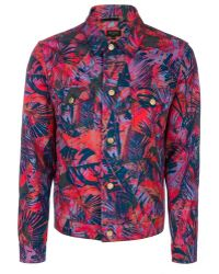 Paul Smith Red 'Acid Jungle' Print Western Jacket red - Lyst