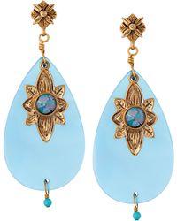 Stephen Dweck - Opalflower Agate Drop Earrings - Lyst