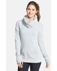 Bench 'Oatlands Ii' Funnel Neck Sweatshirt - Lyst