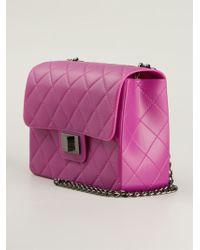 Designinverso Quilted Shoulder Bag - Lyst