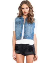 Obey Rise Above Vest - Lyst