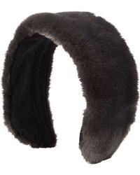 Jennifer Ouellette - Faux Fur Headband - Lyst