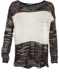 Alice + Olivia Julie Colorblock Sweater - Lyst