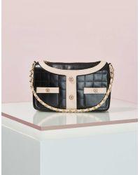 Chanel | Vintage Black Leather Jacket Bag | Lyst
