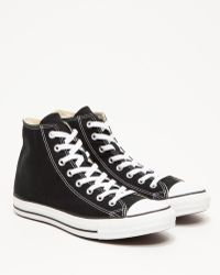 Converse Chuck Taylor High In Black - Lyst