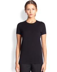 Acne Studios Bliss C Base Jersey T-Shirt - Lyst