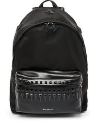 Givenchy Studded Leather Backpack - Lyst