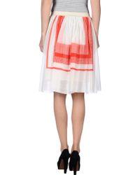 Adele Fado - Knee Length Skirt - Lyst